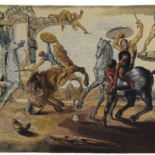 After Salvador Dali,  Spanish 1904 1989   Bataille autour d'une Pissenlit, 1988;…