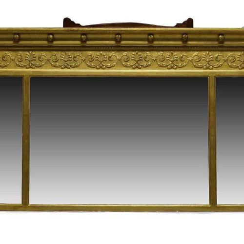 AMENDMENT: Please note this mirror is 20th Century, not Regency as stated in the…