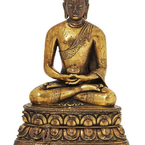 Propriété d'un Gentleman (lots 36 85)    Figure de Bouddha Amitabha en bronze do…
