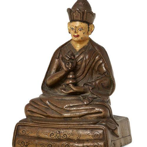 Propriété d'un Gentleman (lots 36 85)    Figurine tibétaine en alliage de cuivre…
