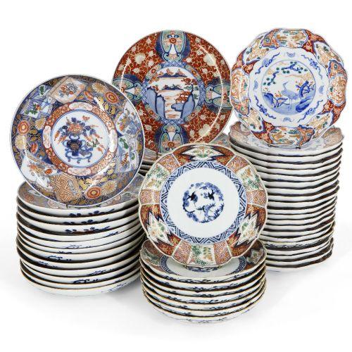 Une grande collection de porcelaine japonaise Imari, début du 20ème siècle, comp…