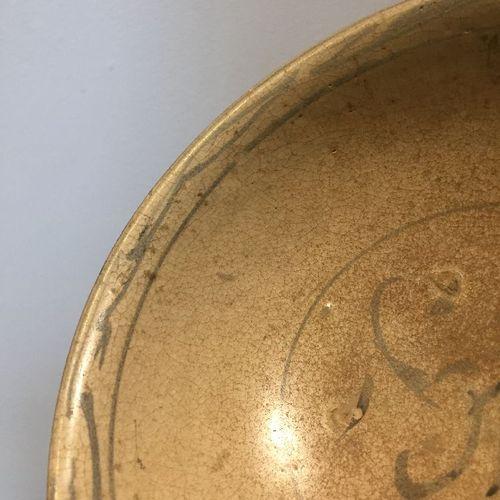 Quatre bols en poterie thaïlandaise Sawankhalok, XVIe siècle, décorés en bleu so…