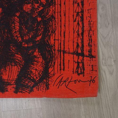 Jean CARZOU, tapisserie. Jean CARZOU (1907 2000). Amants, heureux amants. Tapiss…