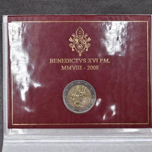 VATICAN, 2008. Pièce commémorative de 2€ VATICAN, 2008. Pièce commémorative de 2…