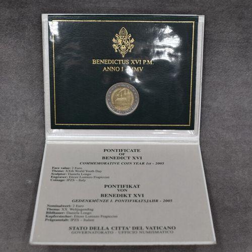 VATICAN, 2005. Pièce commémorative de 2€ VATICAN, 2005. Pièce commémorative de 2…
