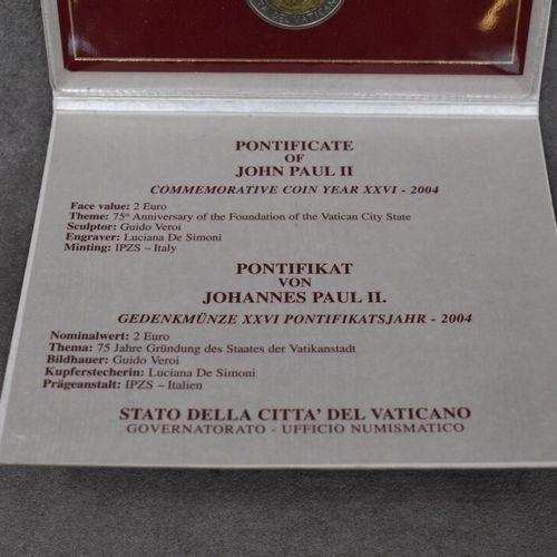 VATICAN, 2004. Pièce commémorative de 2€ VATICAN, 2004. Pièce commémorative de 2…