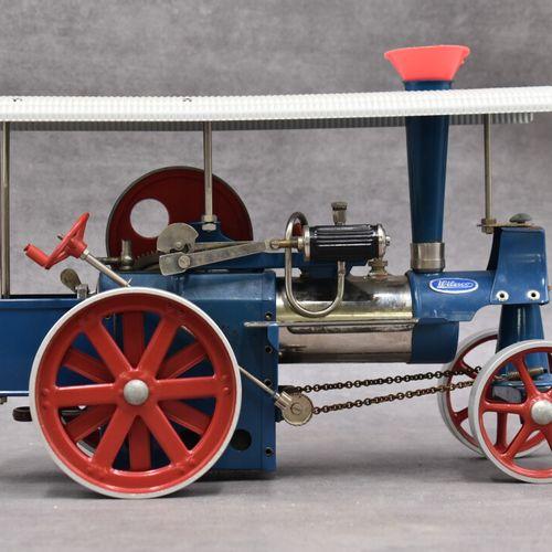 WILESCO WILESCO. Locomotive routière Old Smoky D 40, boîte d'origine.