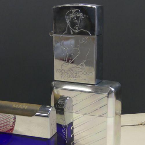 Réunion de flacons de parfums pour homme. Réunion de sept flacons de parfums pou…