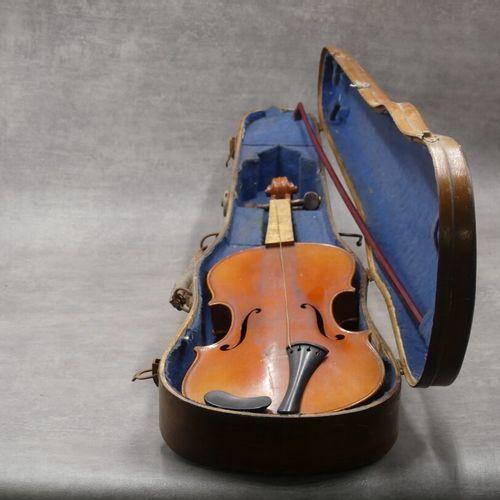 Violon Copie de Antonio Stradivarius, Cremonentis 1721. Violon avec archer et co…