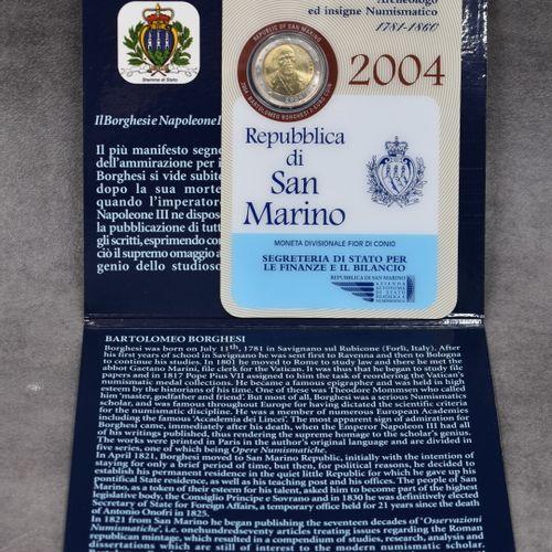 Repubblica di San Marino, 2004: une pièce commémorative de 2€ Repubblica di San …
