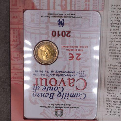 IPZS & Ministero dell'Economia e delle Finanze. Pièce commémorative de 2€ IPZS &…