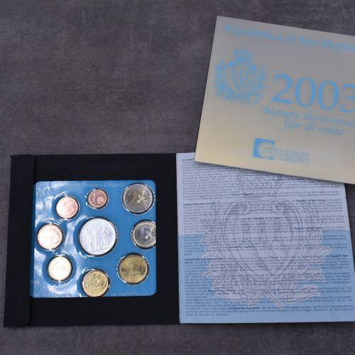 Repubblica di San Marino, 2003 Repubblica di San Marino, 2003: réunion de neuf p…