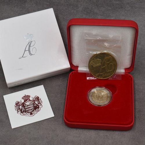 Coffret Monaco, 2011. Pièce commémorative de 2€ Coffret Monaco, 2011. Pièce comm…