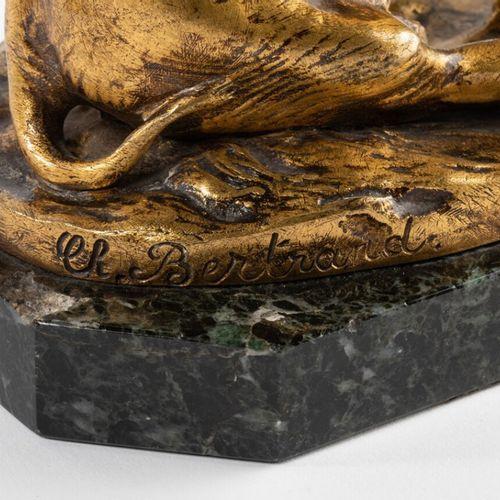Eléphanteau naissant Charlotte Bertrand (XIX XX). Eléphanteau naissant, bronze d…