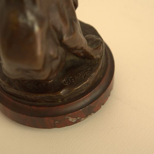 Ours Georges Gardet (1863 1939), Ours pensif, bronze patiné brun, fonte Siot Dec…