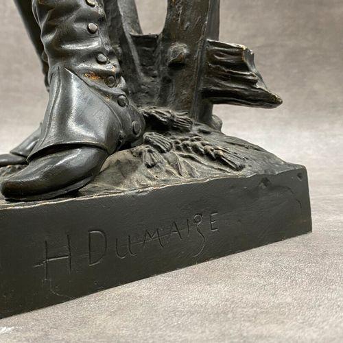 Henry Étienne DUMAIGE Henry Étienne DUMAIGE (1830 1888), Avant le combat volonta…