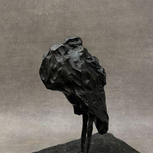 D'après Rembrandt BUGATTI (1884 1916), Groupe de cigogne, bronze à patine brune,…