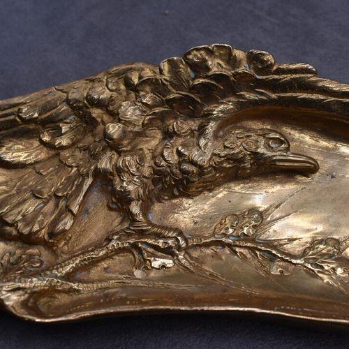 Albert MARIONNET, Vide poche Albert MARIONNET (1852 1910) Vide poche en bronze d…