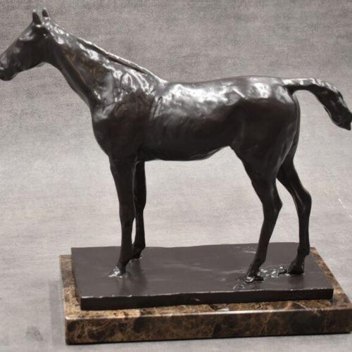 "D'après Edgar DEGAS (1834 1917), Bronze. D'après Edgar DEGAS (1834 1917), ""Cheva…"