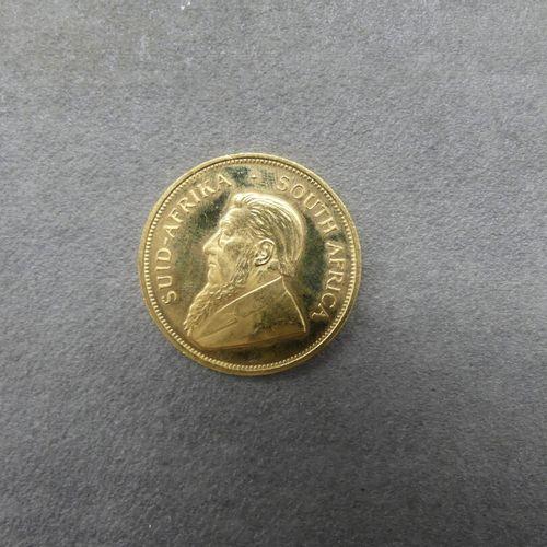 1 krugerrand 1983 en or. Poids: 34.04grammes