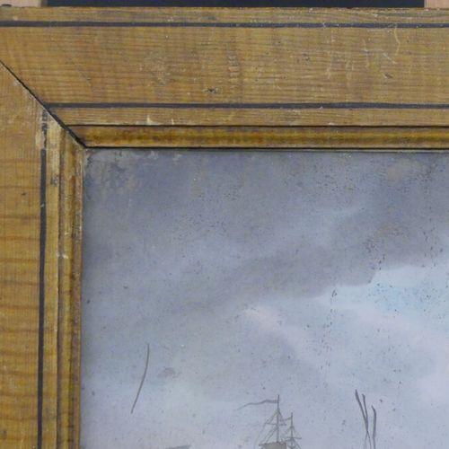 Ecole allemande du XVIIIème siècle, Fixé sous verre Ecole allemande du XVIIIème …