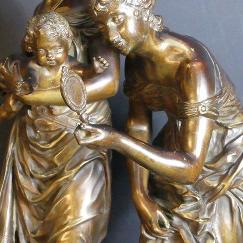 Adrien Etienne GAUDEZ (1845 1902), Bronze. Adrien Etienne GAUDEZ (1845 1902), L'…