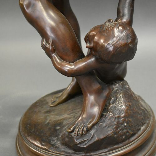 Edmé Antony Paul NOEL (1845 1909), Bronze Edmé Antony Paul NOEL (1845 1909), Vén…