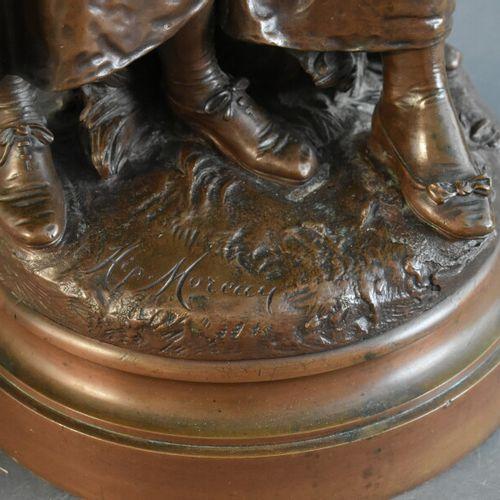 Hippolyte François MOREAU (1832 1927), Bronze. Hippolyte François MOREAU (1832 1…