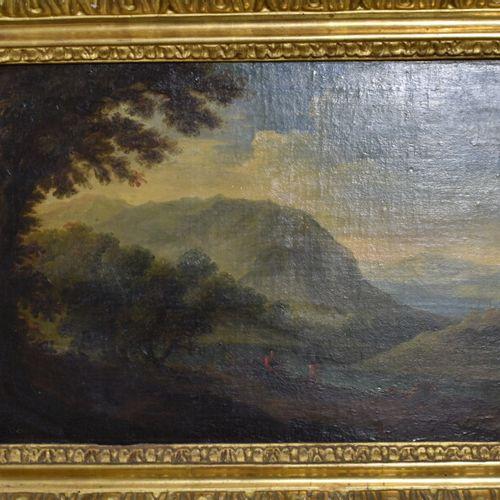 Ecole Française du XVIIIème siècle, Huile sur toile Ecole Française du XVIIIème …