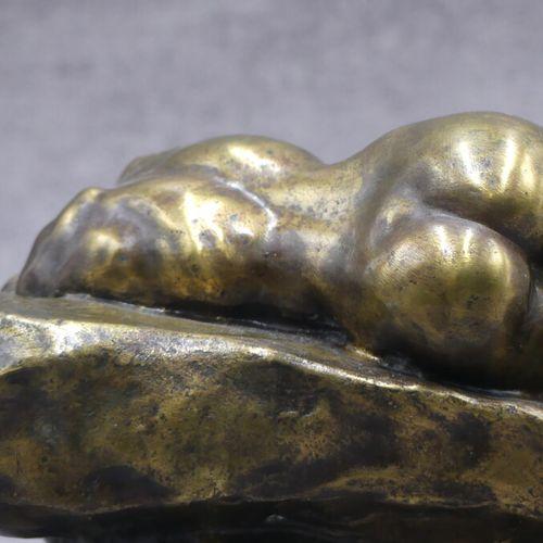 Alexandre CHARPENTIER (1856 1909), Encrier en bronze. Alexandre CHARPENTIER (185…