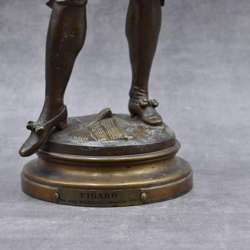 Auguste MOREAU (1834 1917). Auguste MOREAU (1834 1917), Figaro. Sujet en bronze …