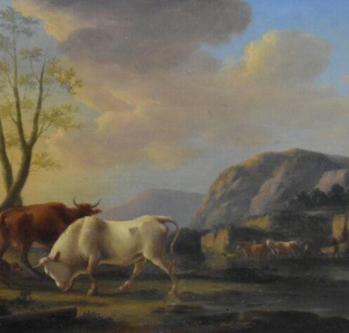 Jean Michel DIEBOLDT (1779 1824). Huiles sur panneaux Attribué à Jean Michel DIE…