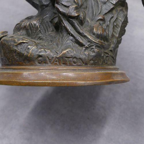 Charles VALTON, Serre livres en bronze Charles VALTON (1851 1918), Serre livres …