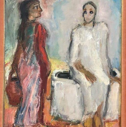 Pierre PARSUS (Born 1921) Le Puits de Jacob. Oil on canvas, signed lower right. …