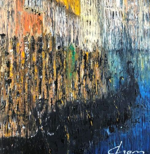 Michel DRASS (XXth) Venise Vertical Emotion Oil on canvas.Signed lower right. 72…
