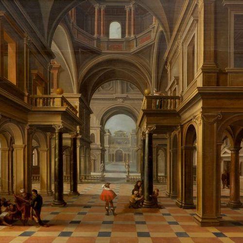 Bartholomeus van Bassen (1590 1652) Bartholomeus van Bassen (1590 1652), Intérie…