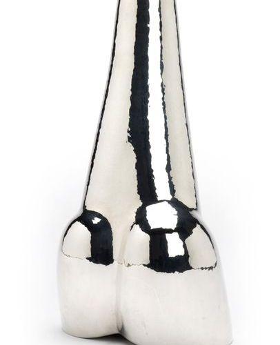 A Dutch silver design vase, Paul de Vries A Dutch silver design vase, Paul de Vr…