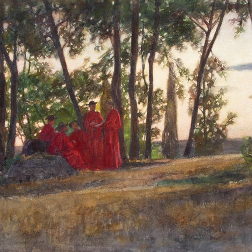 Nicolaas van DER WAAY (1855 1936) Nicolaas van der Waay (1855 1936), Kardinalen …