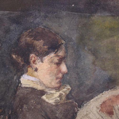 Nicolaas Steffelaar (1852 1918) Nicolaas Steffelaar (1852 1918), Zittende vrouw …