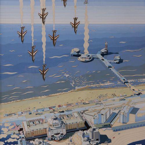 Henny Gusta van den Berg (1937) Henny Gusta van den Berg (1937), Kurhaus en Pier…