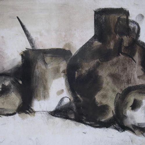 """Hans van Ieperen (1909 1995) Hans van Ieperen (1909 1995), """"Stilleven met kruik""""…"""