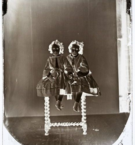 Eugène Casimir Volmerange Oulif (1804 1862) The Twins / Le gemelle, Metz, circa …