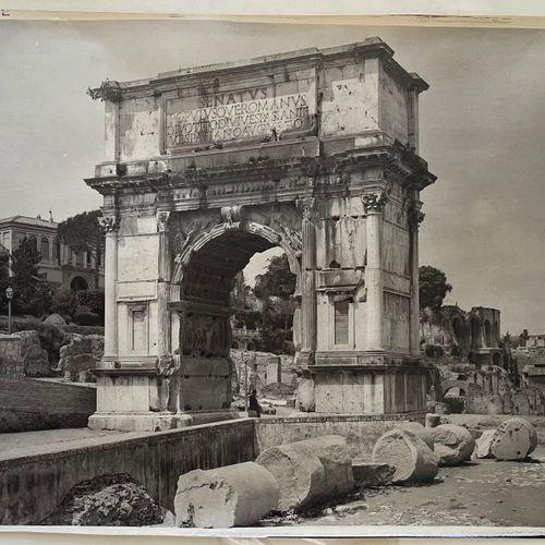 Adolphe Braun (1812 1877) Arch of Titus, Rome, c. 1868 Large carbon print, 400x5…