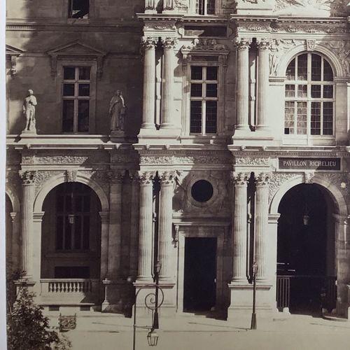 Gustave Le Gray (1820 1884) Pavillon Richelieu, Paris, 1857 Albumen print, 517x3…