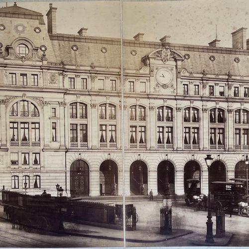 Albert Chevojon (1864 1925) attr. Delmaet et Durandelle Gare St Lazare, Paris, c…