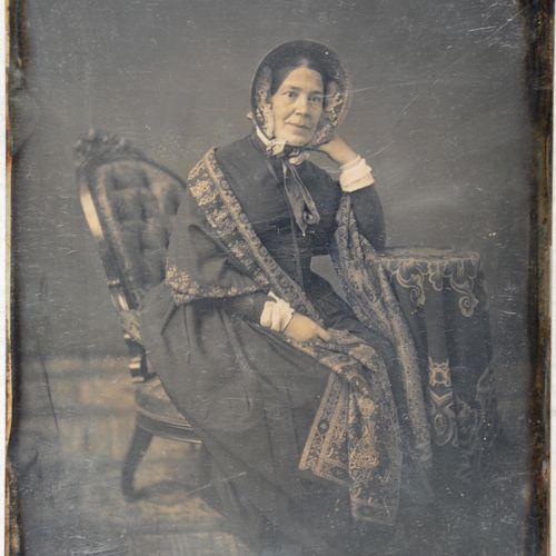 French daguerreotypist Sophie Rostopchine, comtesse de Ségur, Paris, late 1840s.…