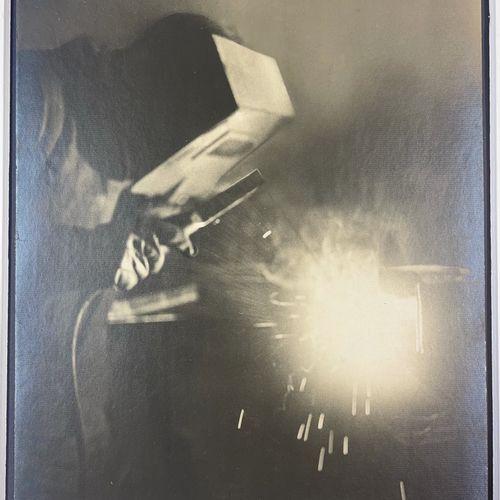 Sandro Guida (active 1937 1939) Autogenous welding, Paris, 1937 Vintage silver p…