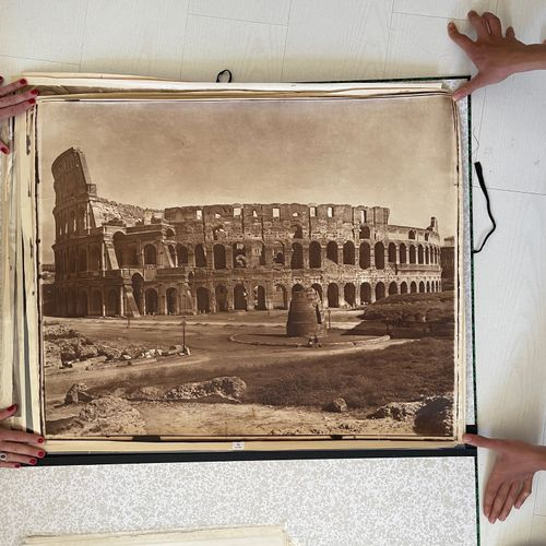 Adolphe Braun (1812 1877) Colosseum, Rome, c. 1868 Mammoth size carbon print, 60…