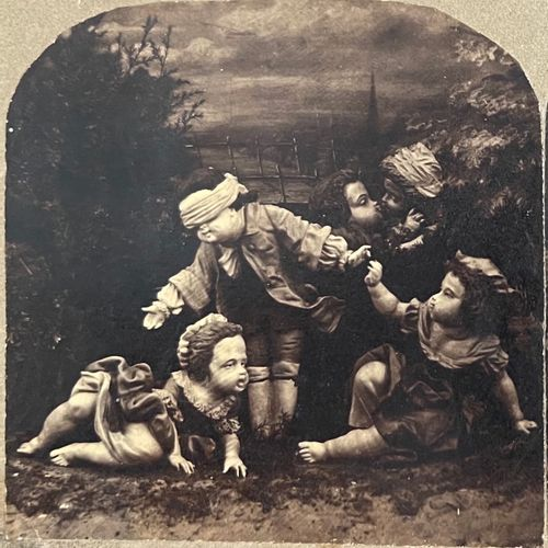 French stereo photographer after Antoine Watteau (1684 1721) Blind Collector's B…