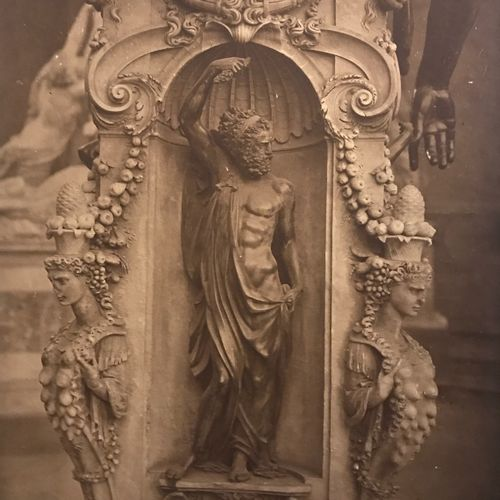 Adolphe Braun (1812 1877) Jupiter & Minerva, Loggia dei Lanzi, Florence, c. 1868…